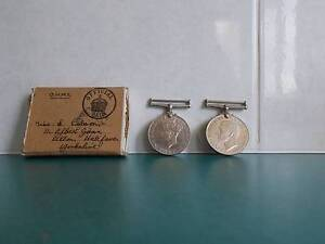 English WW2 War Medal and Defence Medals 1939-45 Original Box Caboolture Caboolture Area Preview
