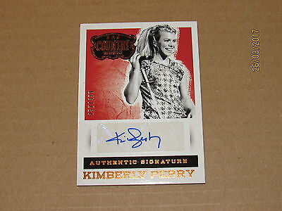 2015 Country Music Signatures #58 Kimberly Perry SN 252/499