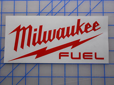 "Home Decoration -  Milwaukee Tools Fuel Decal Sticker 5"" Sawzall Drill Saw Impact M12 M18 Light"