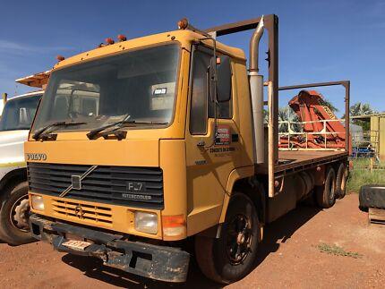 Volvo Flat Top Rigid Truck