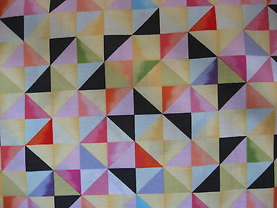 100% Cotton fabric Squares and Triangles.. Flight Pattern Collection for sale  Victoria CB