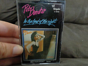 PAT-BENATAR-In-The-Heat-Of-The-Night-used-Cassette-ships-from-AUSTRALIA