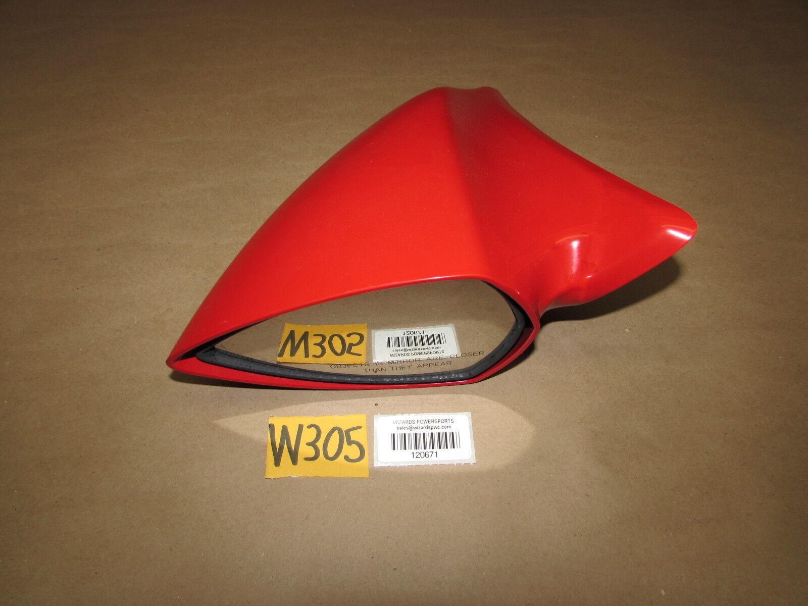 Kawasaki 2007 Ultra 250X Mirror LH Red OEM Left Side Rear View 250 X 260X