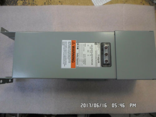 Eaton Cutler-Hammer 2543PMURF Fixed Capacitor, 25 kvar 480V 3ph w/lts & fuses