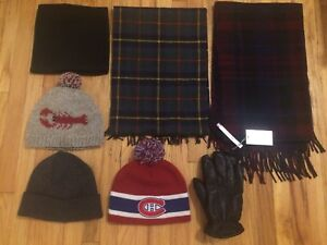 Hats, Scarf, Gloves