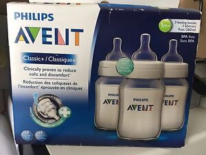 3 Advent classic bottles brand new in open box