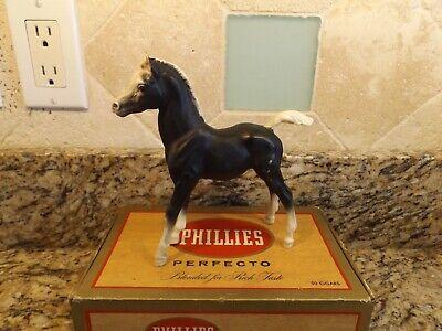 Vintage Black & White Model Horse / Pony Breyer Molding Co. USA
