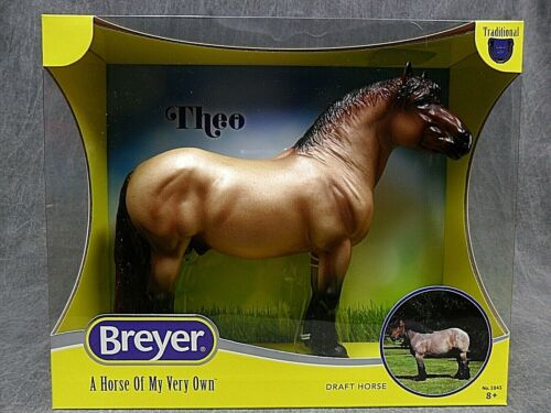 Breyer NEW * Theo Ardennes Stallion * 1843 Georg Draft Traditional Model Horse