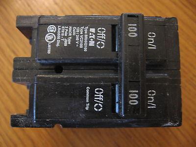 New Qty 1 Eaton Brhh2100 Bryant Cutler Hammer Circuit Breaker 2 Pole 100 Amp