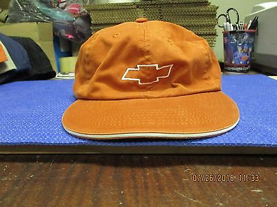 CHEVROLET/CHEVY-UT BURNT ORANGE CAP-CHEVROLET EMBLEM LOGO FRNT-LONGHORN LOGO BAC Ut Burnt Orange