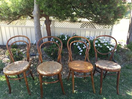 Antique bentwood chairs  Heathridge Joondalup Area Preview