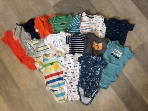 Lot of boys 0-3 months clothes