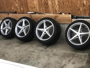 C6 Corvette wheels and tires