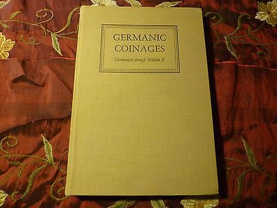 Germanic Coinages Charlemagne through Wilhelm II, signed first, Craig, 1954