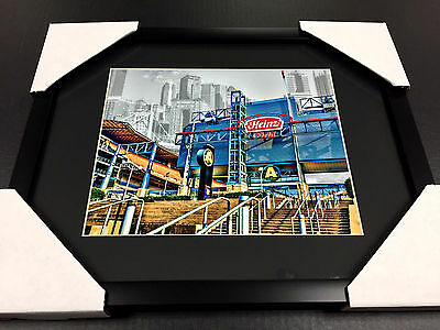 Pittsburgh Steelers Heinz Field Framed - HEINZ FIELD STADIUM PITTSBURGH STEELERS ART WORK 8x10 Framed Photo