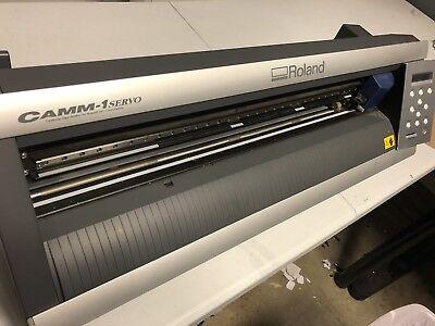 Roland Camm-1 Gx-24 24 Vinyl Cutterplotter For Vinyl