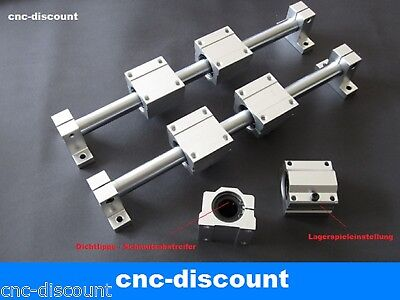 LINEARF HRUNG 8X 350MM CNC LINEAR GUIDE RAIL STAGE