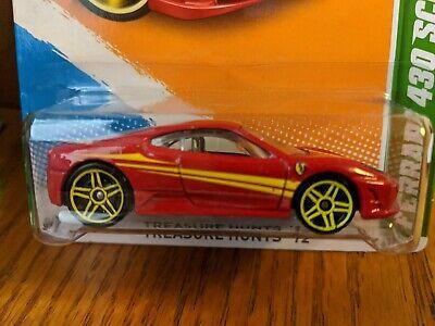 Hot Wheels 2012 Treasure Hunt Ferrari 430 Scuderia TH Rare VHTF Super Clean!!!!!