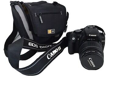 CANON Rebel XT DSLR & Canon EFS 18-55 Zoom Lens & Extras