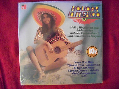 Tijuana Band und die Dolores Singers - Holiday in Mexico     BASF  LP OVP   NEU