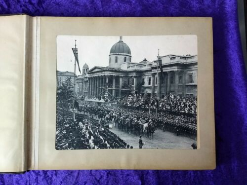 Scarce original 1897 Queen Victoria Diamond jubilee Procession photo album