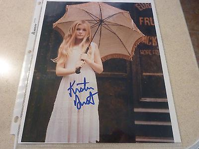 Kirsten Dunst   Rare Signed 8X10 Color Photo W Coa