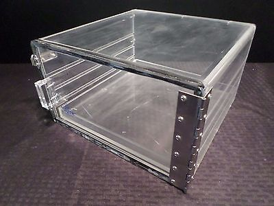 Nalgene Clear Acrylic 7 X 12 X 12 Dry-cab Desiccator Storage Cabinet 1 Shelf