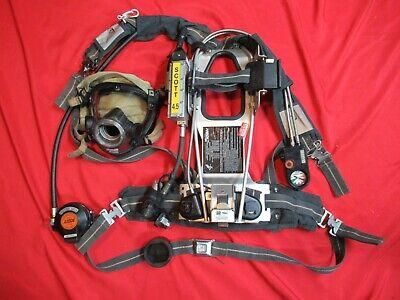 2002 Edition Scott 4.5 Scba Hud Av2000 Mask E-z Flo Cbrn Regulator Pass Alarm