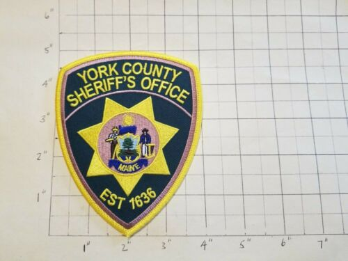 York County (Alfred, ME) Sheriff