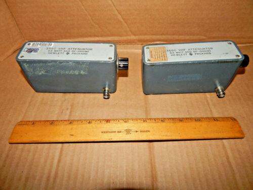 HP Hewlett Packard 355C VHF Attenuator