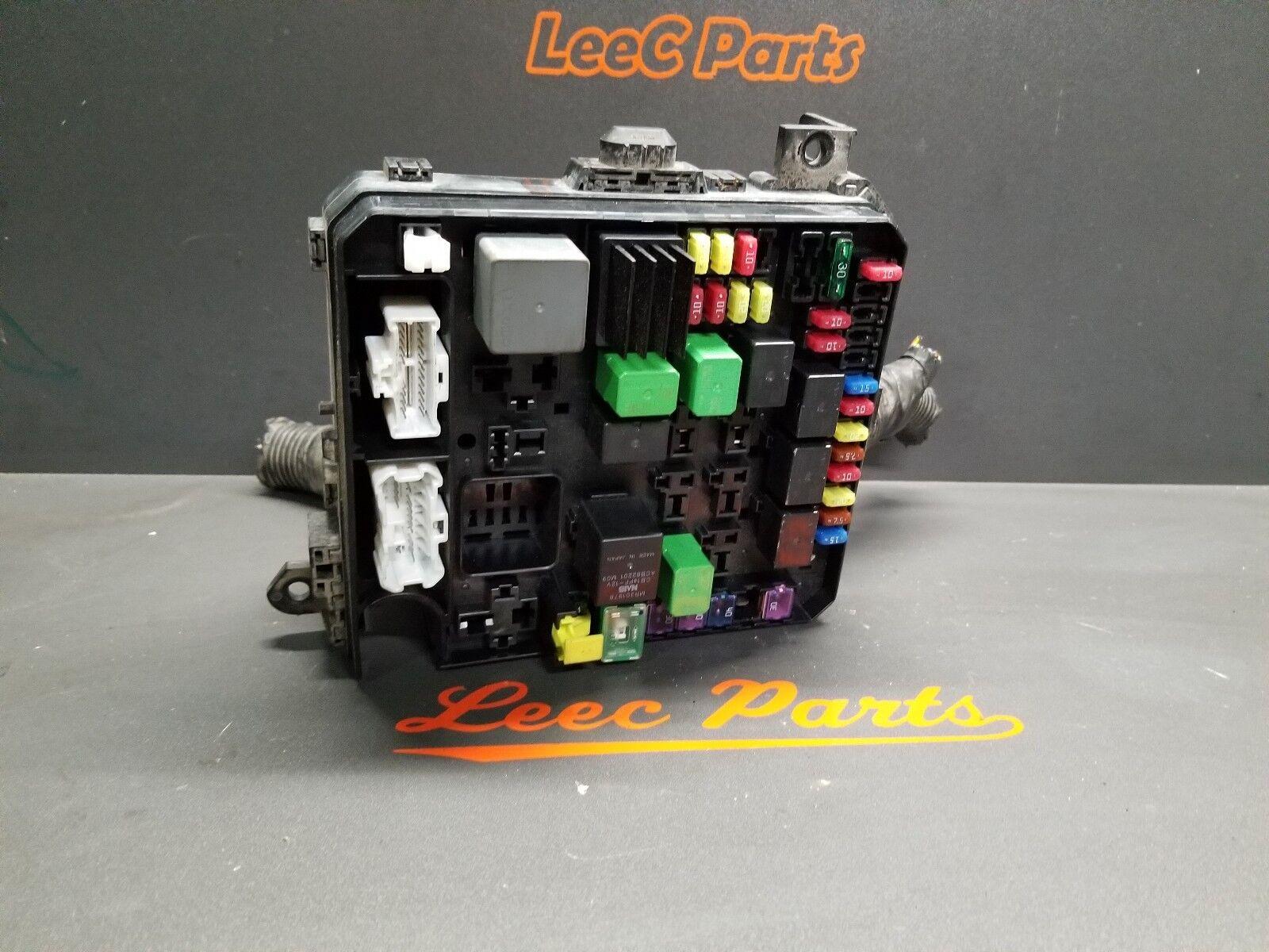 2010 MITSUBISHI LANCER RALLIART OEM 4B11T ENGINE BAY FUSE BOX CUT