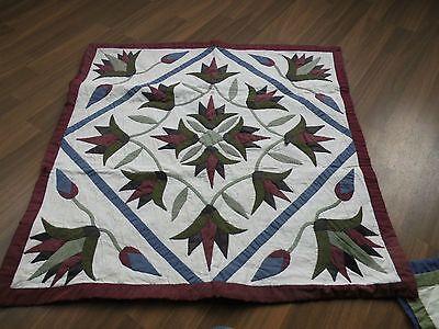Kopfkissenbezug Ägyptisch, Patchwork, Traditionelle Handarbeit, Baumwolle