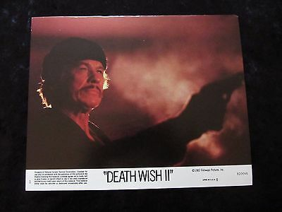 Death Wish II lobby cards - Charles Bronson - mini set of 8