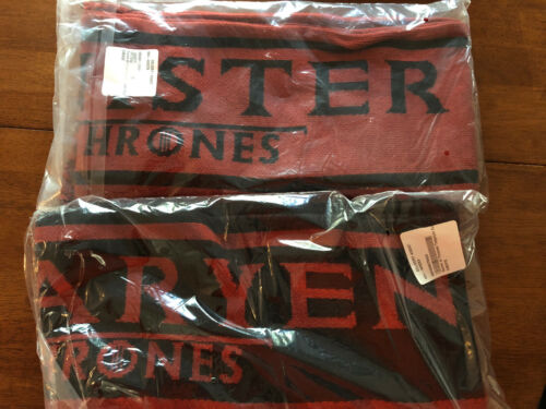 GAME OF THRONES Lot of 3 Winter SCARVES NEW SEALED