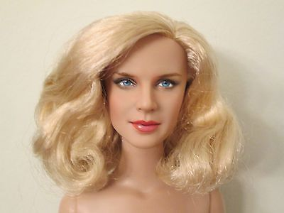 Mrs. Coulter Repaint Nude Tonner Doll inspired by Nicole Kidman Blonde BW Body
