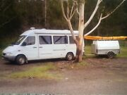 Campervan Mercedes Sprinter Floraville Lake Macquarie Area Preview