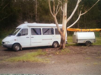 Campervan Mercedes Sprinter Floraville Lake Macquarie Area Preview