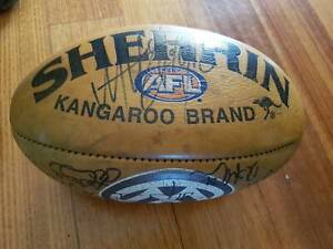 AFL Year 2000 Night Grand Final match ball Ess v Nth Melbourne