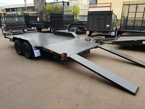 15x6.6ft Car Trailer Beaver tail 2tn KGs on Ready to Go Minchinbury Blacktown Area Preview