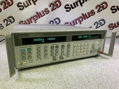 Hewlett Packard 83752a Synthesized Sweeper 0.01 - 20 Ghz W 1e1 1e5