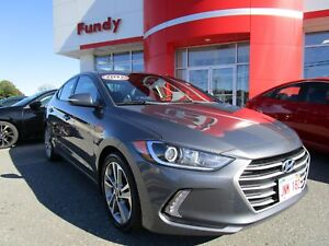 2017 Hyundai Elantra GLS w/Heated Steering Whee, Sunroof, Push S