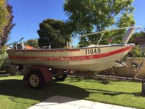 14ft Savage Gannet Tinny with 25HP Tohatsu Wembley Cambridge Area Preview
