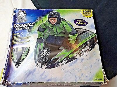 """48"""" Triangle By Uncle Bob inflatable snow tube Sled Snow  ()"""