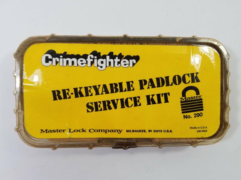 Master Lock Padlock Service Kit 290 Pin Kit with Assembly Tool Cut Gauge Etc