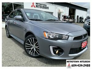 2017 Mitsubishi Lancer GTS; Local & No accidents! CERTIFIED!