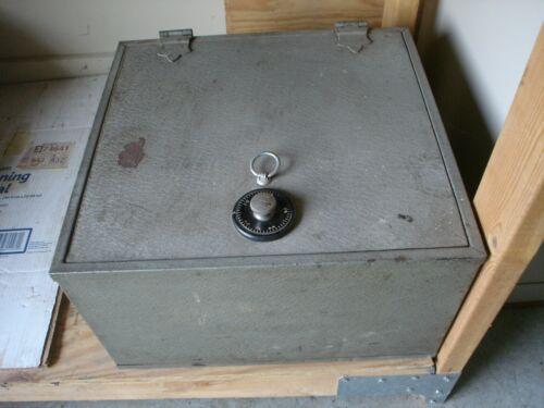 Vintage Melink Hercules Steel Floor Fire Combination Safe Very Good Condition
