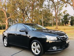 2010 Holden Cruze CDX Sedan AUTO Low kms Full Service History Black Moorebank Liverpool Area Preview