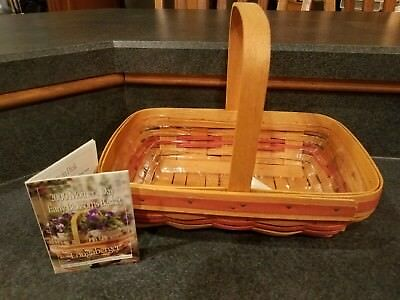 May Day Baskets (Longaberger 2000 Mothers Day Early Blossom Basket with Protective Liner -)