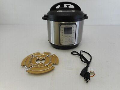 Instant Pot 60 - Duo Plus 9-in-1 Electric Pressure Cooker, 6 Quart