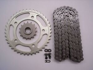 HONDA CBR900RR CBR 900 RR  SPROCKET & O-RING CHAIN SET 16/43 1996 - 1999   SLV
